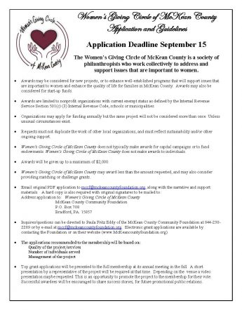 WWC Grant Application 2020 new deadline Page 1